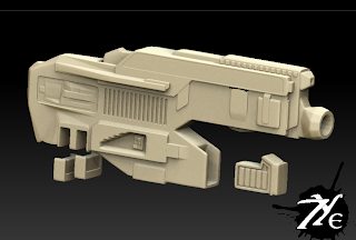 7ye HD Sci-fi Weapon