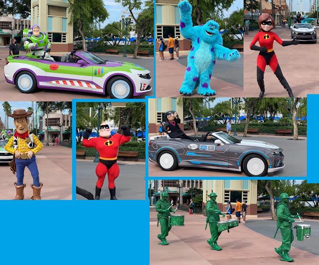 Pixar Motorcade Disney's Hollywood Studios Phased Reopen Walt Disney World Resort
