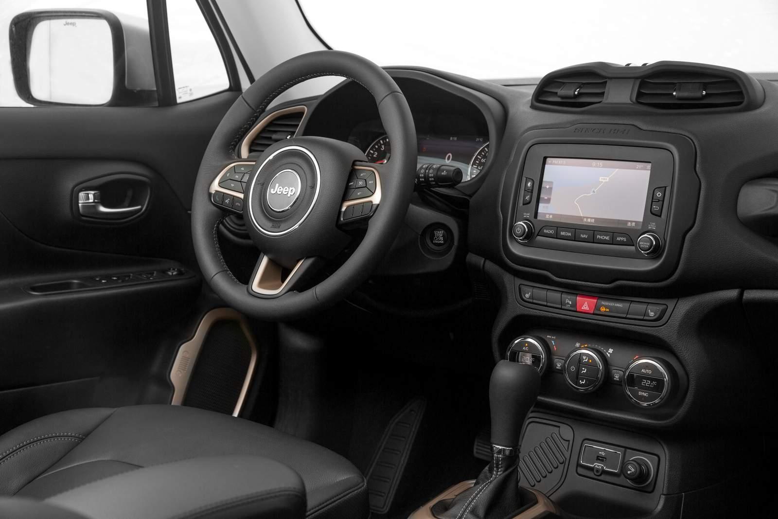 Jeep renegade 2017 ficar mais econ mico e completo car for Interno jeep renegade