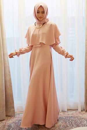 Trend Model Baju Muslim 2017 Warna Pastel Cantik