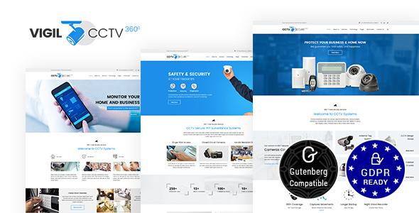 Download Free Vigil v1.7 – CCTV, Security WordPress Theme