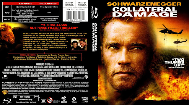 Collateral Damage Bluray Cover
