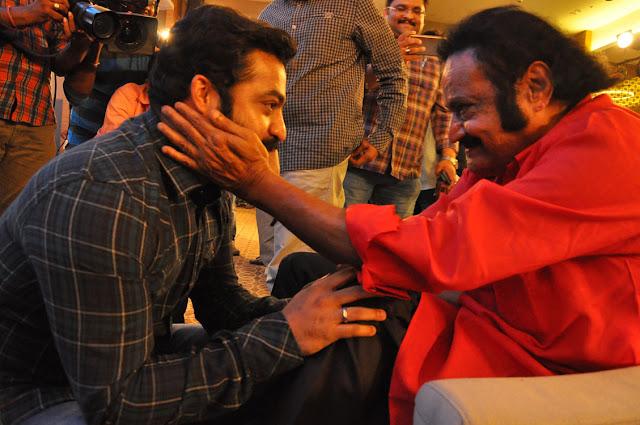 harikrishna, ntr at ism telugu movie audio launch photos