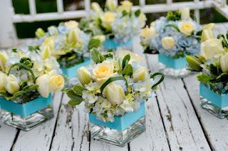 פרחים חתונה - זרים מיניאטוריים