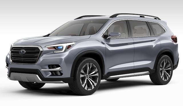 2017 Subaru Ascent concept