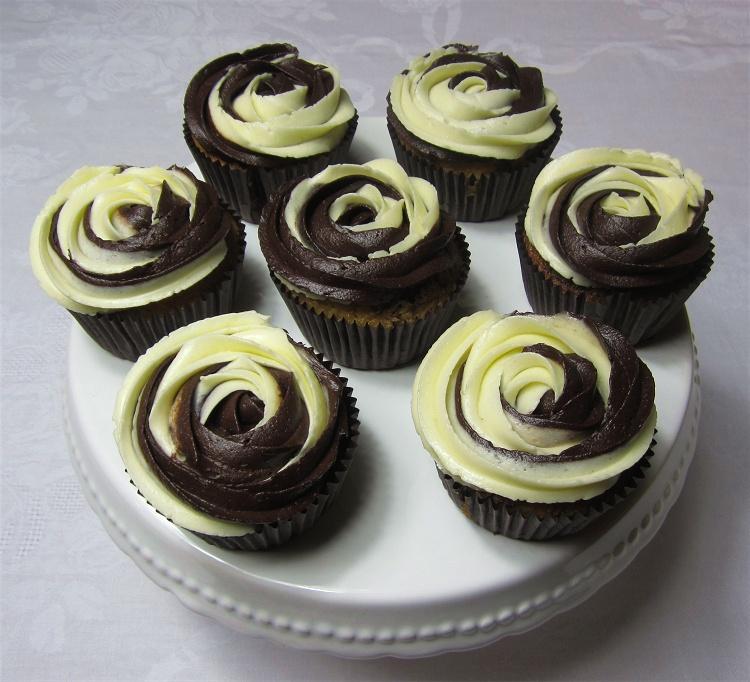 Marmor-Cupcakes