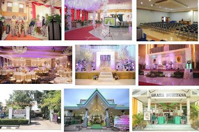 Daftar Gedung Pertermuan dan Pernikahan Non Hotel Terlengkap di Surabaya