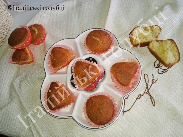 рецепт сирних кексів