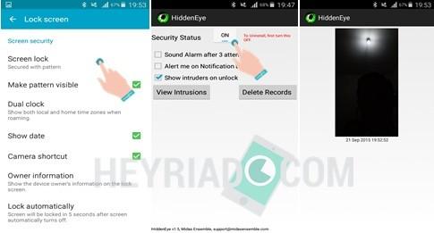 Cara Foto Wajah Orang Yang Coba Membuka Kunci Android Heyriadcom