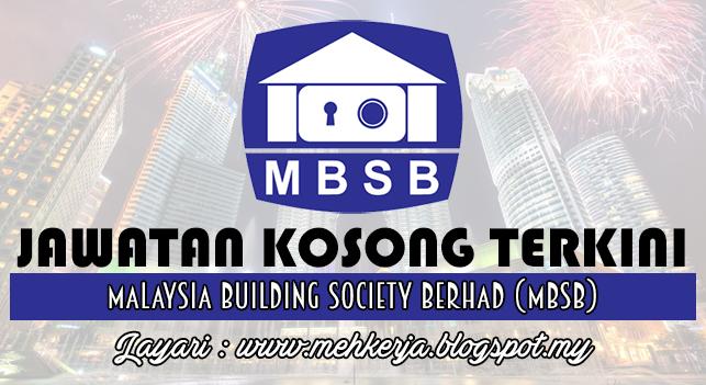 Jawatan Kosong Terkini 2016 di Malaysia Building Society Berhad