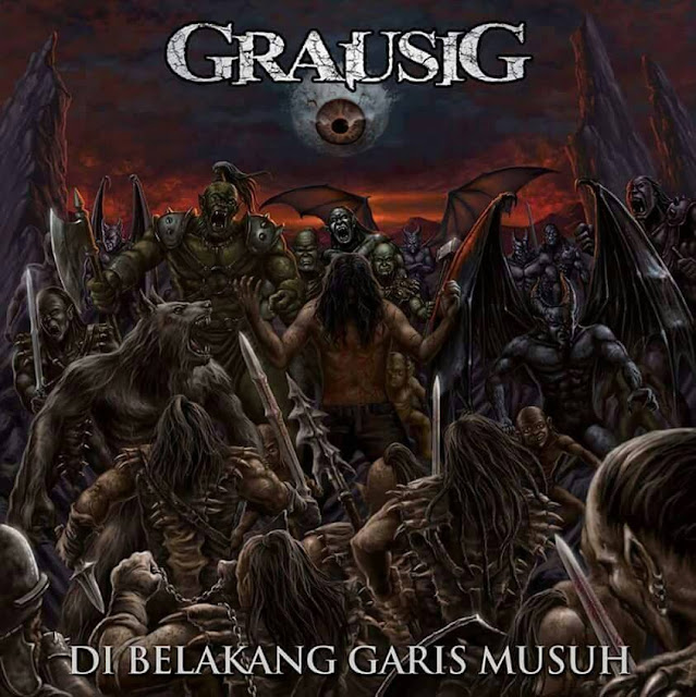 Grausig Upcoming Album, Di Belakang Garis Musuh, Grausig Upcoming Album Di Belakang Garis Musuh