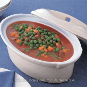 Syrian Green Peas Stew Recipe