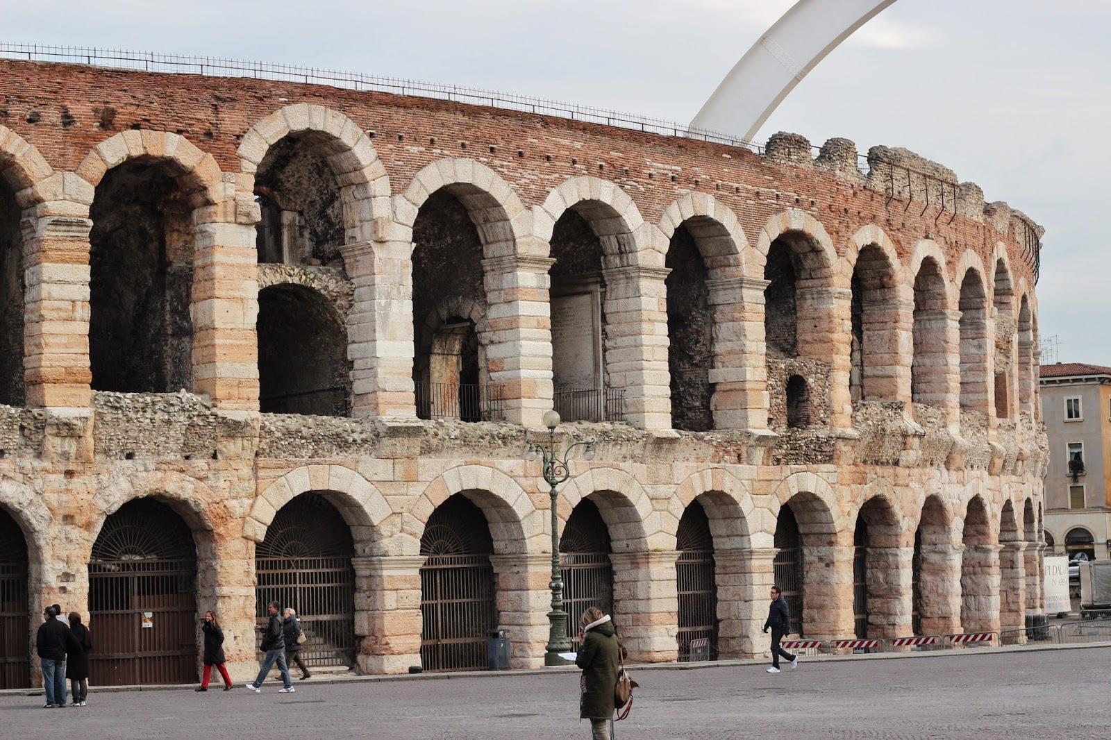 Arena in Piazza Bra Verona