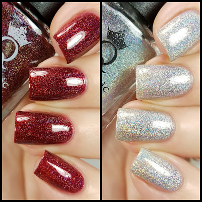Quixotic Polish New Years Duo Swatches and Review