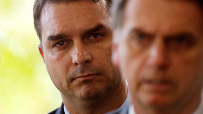 'Atacam minha imagem para atingir meu pai', diz Flávio Bolsonaro