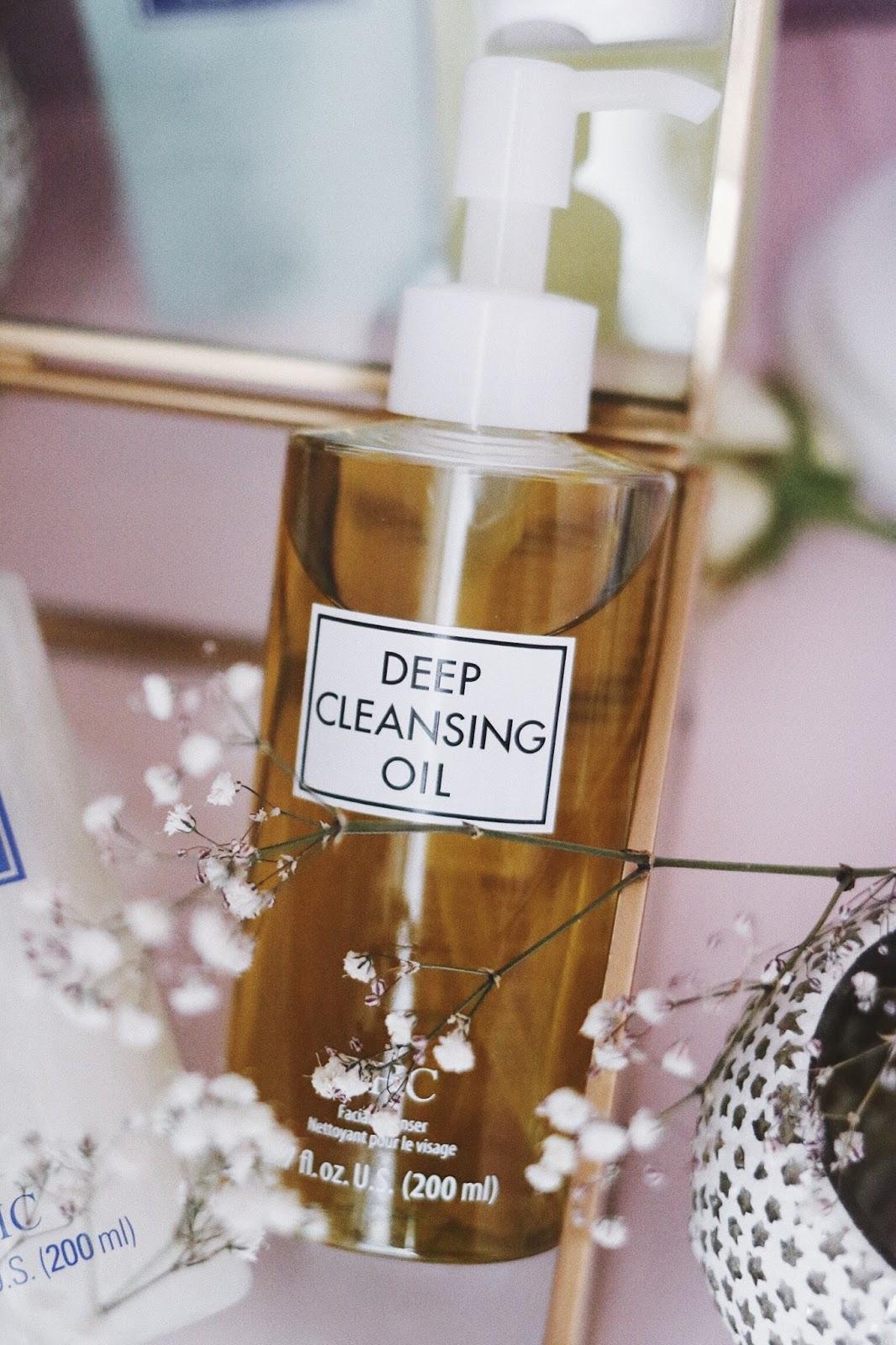 DCH , Double Wash , Deep Cleansing Oil , Face Wash , Agence Spirale , DCH FRANCE , huile d'olive , bio, soins visages bio, rituel japonais , blog beauté , revue , avis , rosemademoiselle , rose mademoiselle ,