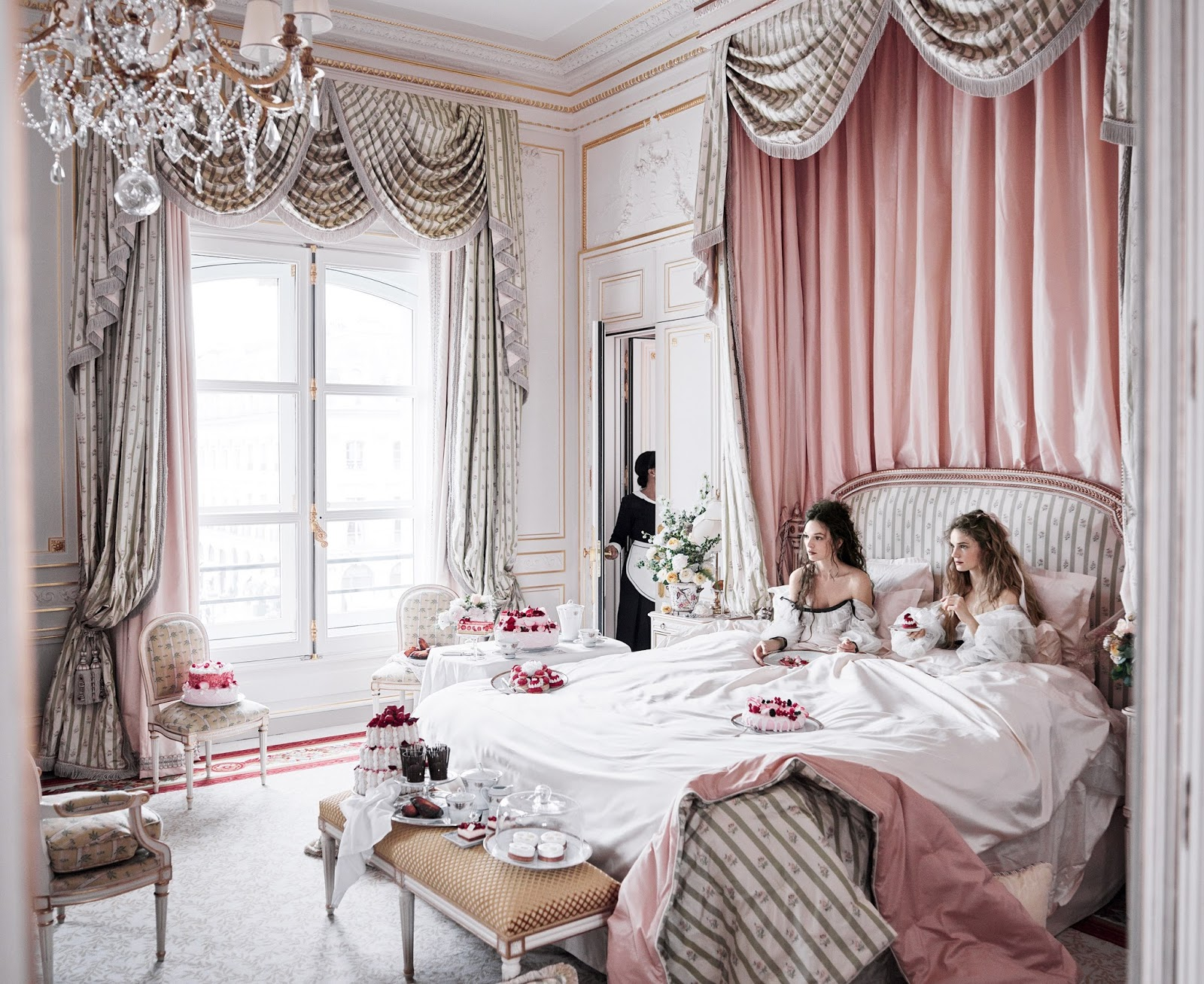 Mikael Jansson for Vogue at Ritz Paris