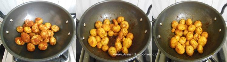 How to make Punjabi Dum Aloo- Step 3
