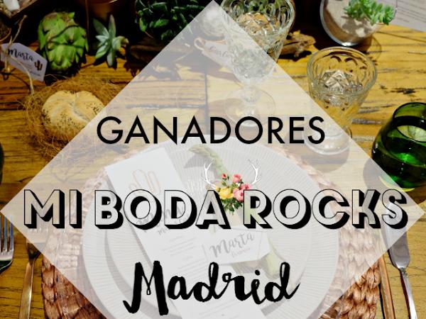 Ganadores Mi Boda Rocks Experience Madrid