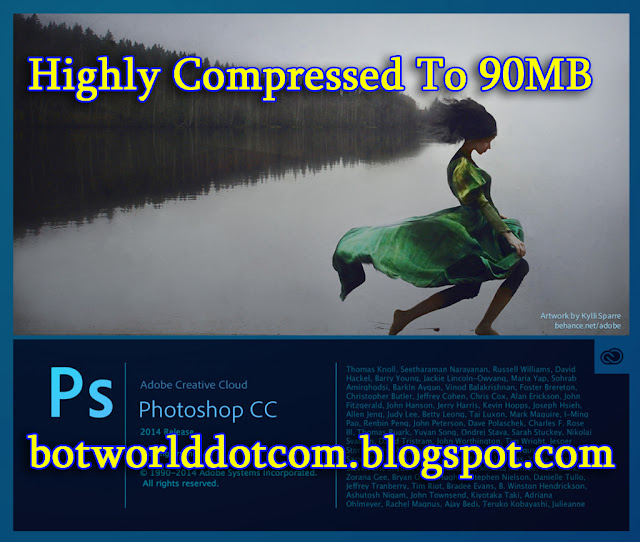 Photoshop CC V14.2 Highly Compressed To 90MB