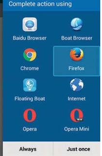 hapus browser yang lama
