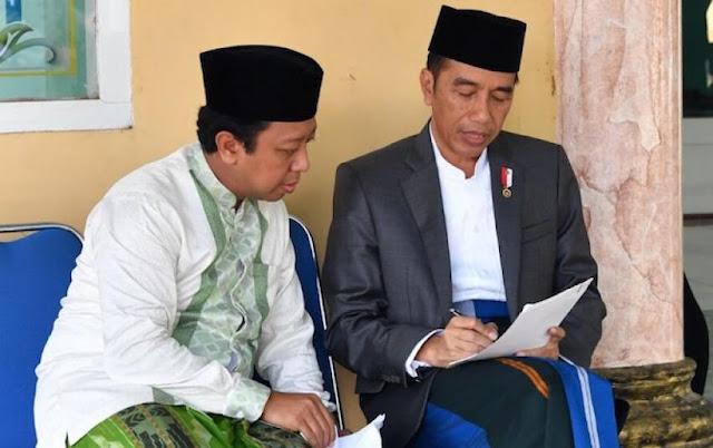 Mengapa Jokowi Ajak Romy ke Basis Santri? Ini Jawaban Pengamat