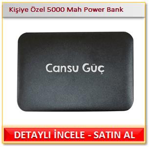 Kişiye Özel 5000 Mah Power Bank