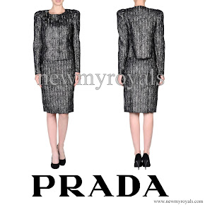 Crown Princess Mette Marit Style PRADA Women Suit