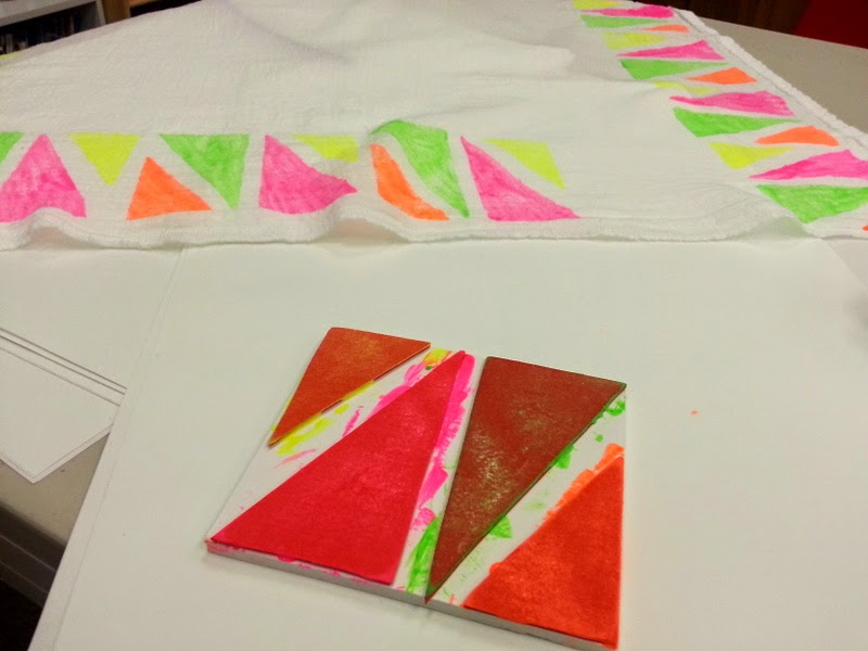 Block Printing with Craft Foam   Choices for Children