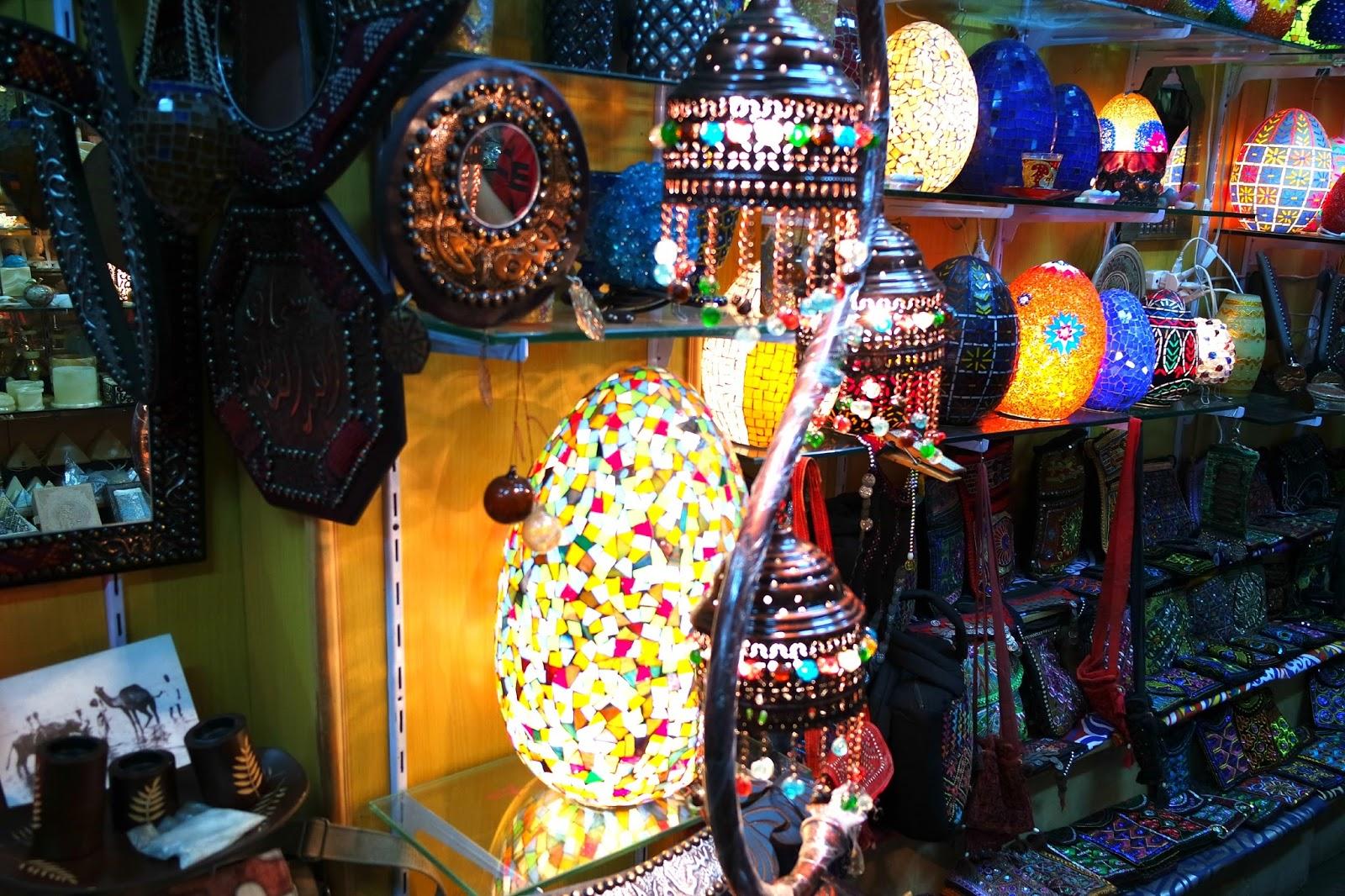 decoração Egito Khan El Khalili