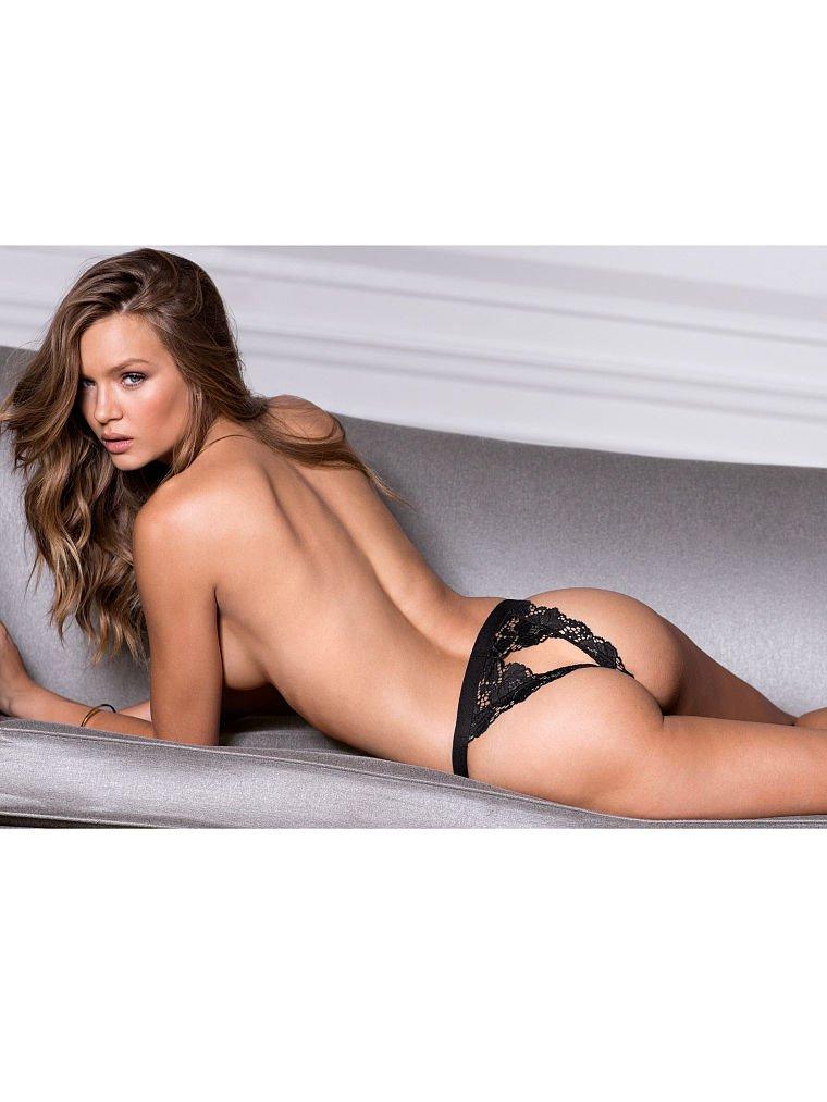 Josephine Skriver Poses In Victorias Secret Lingerie -7773
