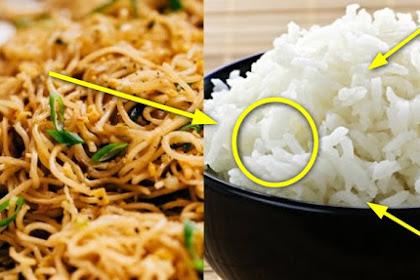 FATAL AKIBATNYA !! Suka Makan Nasi Campur Mie Instan? Yuk Berhenti Akibatnya Bisa Sangat Berbahaya!