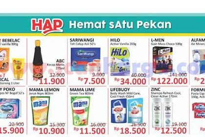 Katalog HAP Promo Alfamidi Satu Pekan 14 - 20 Januari 2019