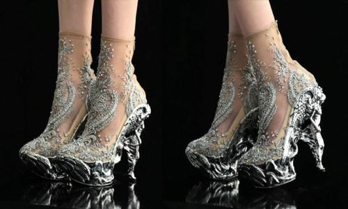 Alexander Mcqueen Alien Shoes For Sale