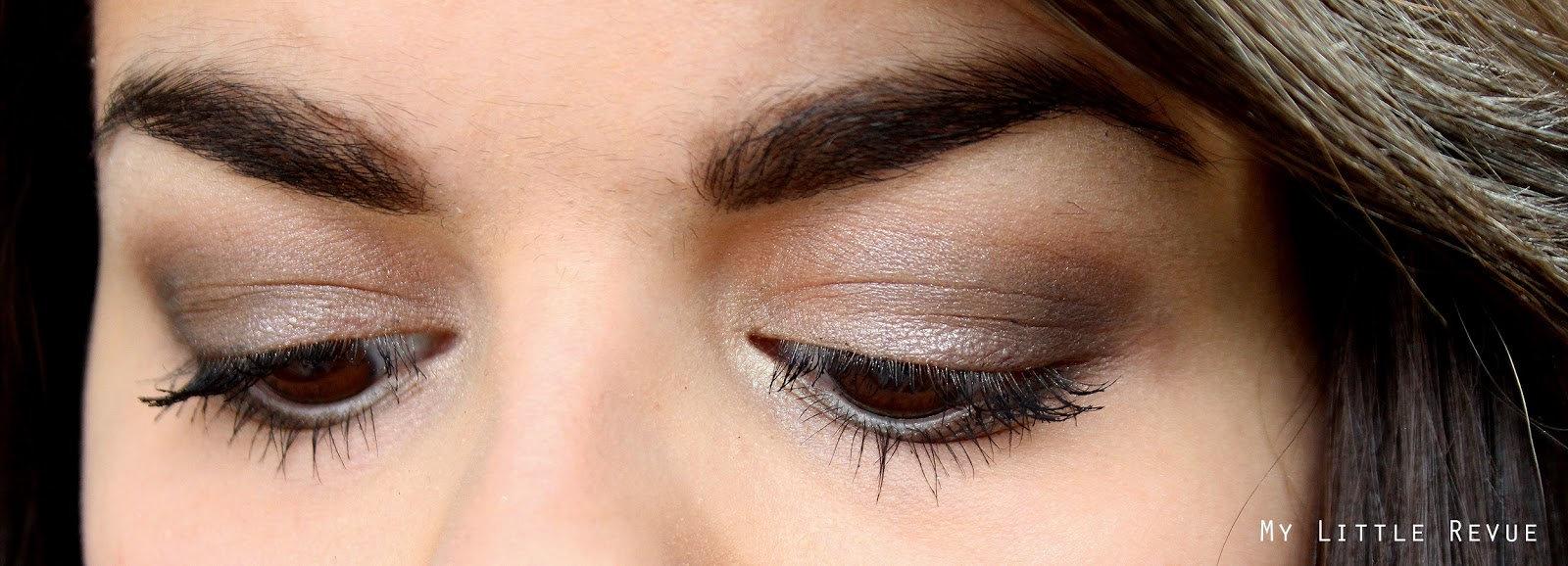 maquillage des yeux taupe