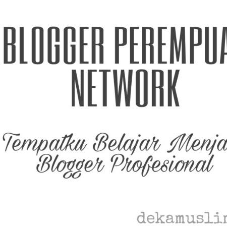 Blogger Perempuan Network, Tempatku Belajar Menjadi Blogger Profesional