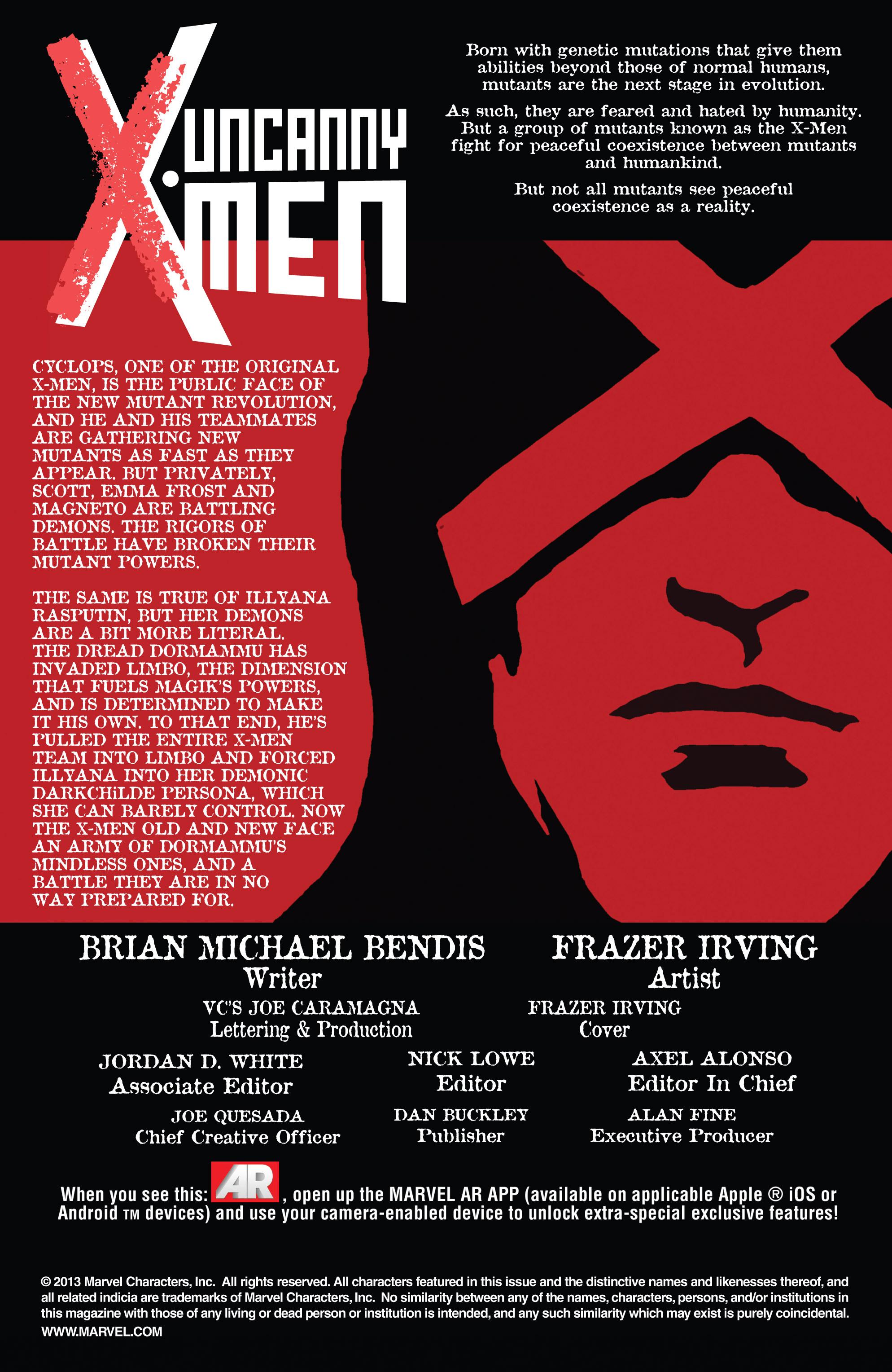 Read online Uncanny X-Men (2013) comic -  Issue # _TPB 2 - Broken - 24