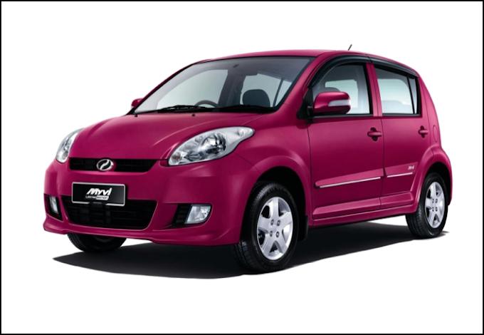 Perodua Myvi 1.3 (A) or Similar