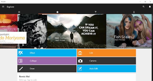 PicsArt - Photo Studio ứng dụng chỉnh sửa ảnh tuyệt vời cho Windows 10 và Windows 10 Mobile