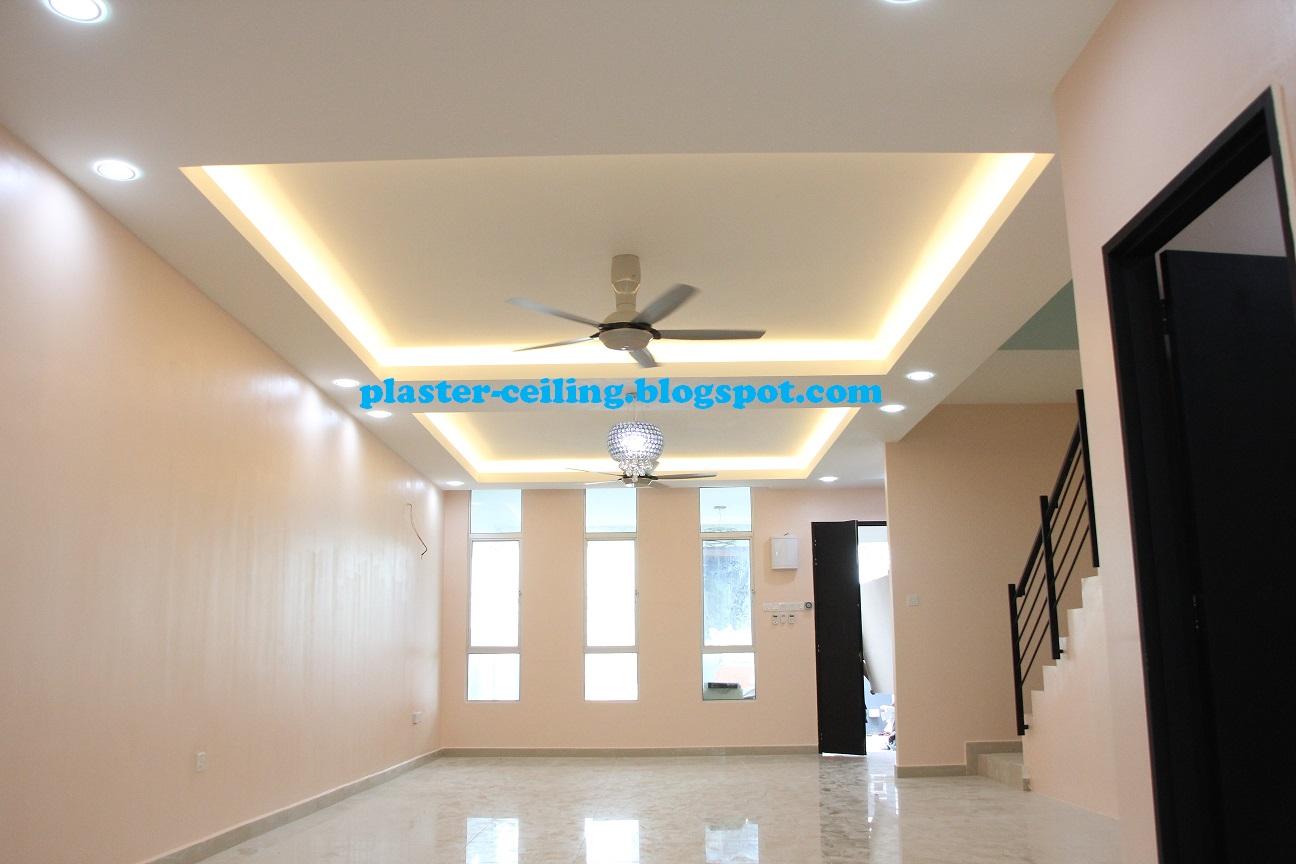 PLASTER CEILING: PLASTER CEILING DESIGN BANGI AVENUE