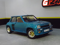 Renault 5 Turbo Rally tamiya 1/24