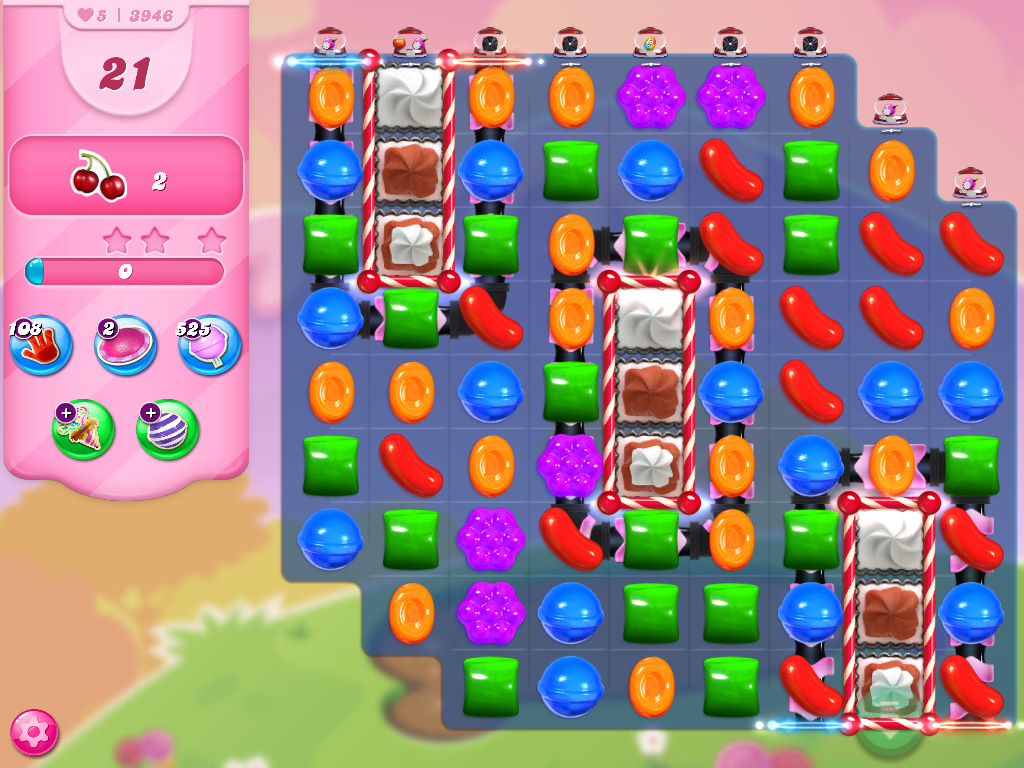 Candy Crush Saga level 3946