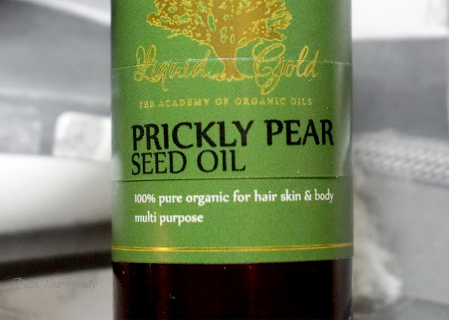 Prickly Pear Seed Oil for hyperpigmentation | bellanoirbeauty.com
