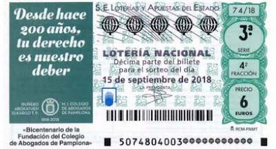 loteria nacional sabado 15 de septiembre