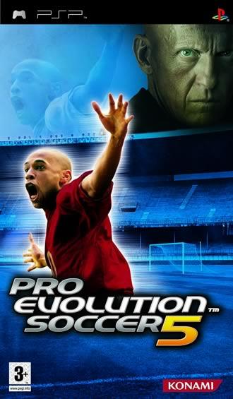 pro5 - Download PSP Games For Free-Pro Evolution Soccer 5 [EUR]