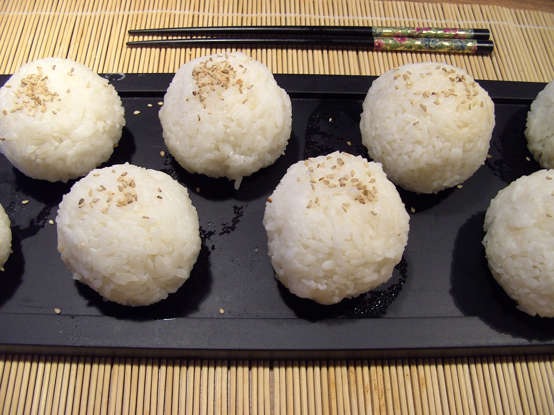 Cooking Around the World: Rice Balls with Spring Onions