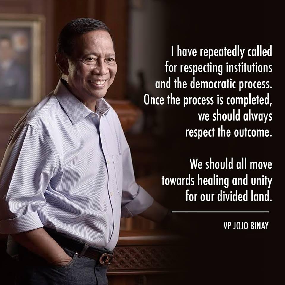 Binay concedes