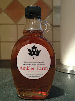 Maple syrup from Ambler Farm