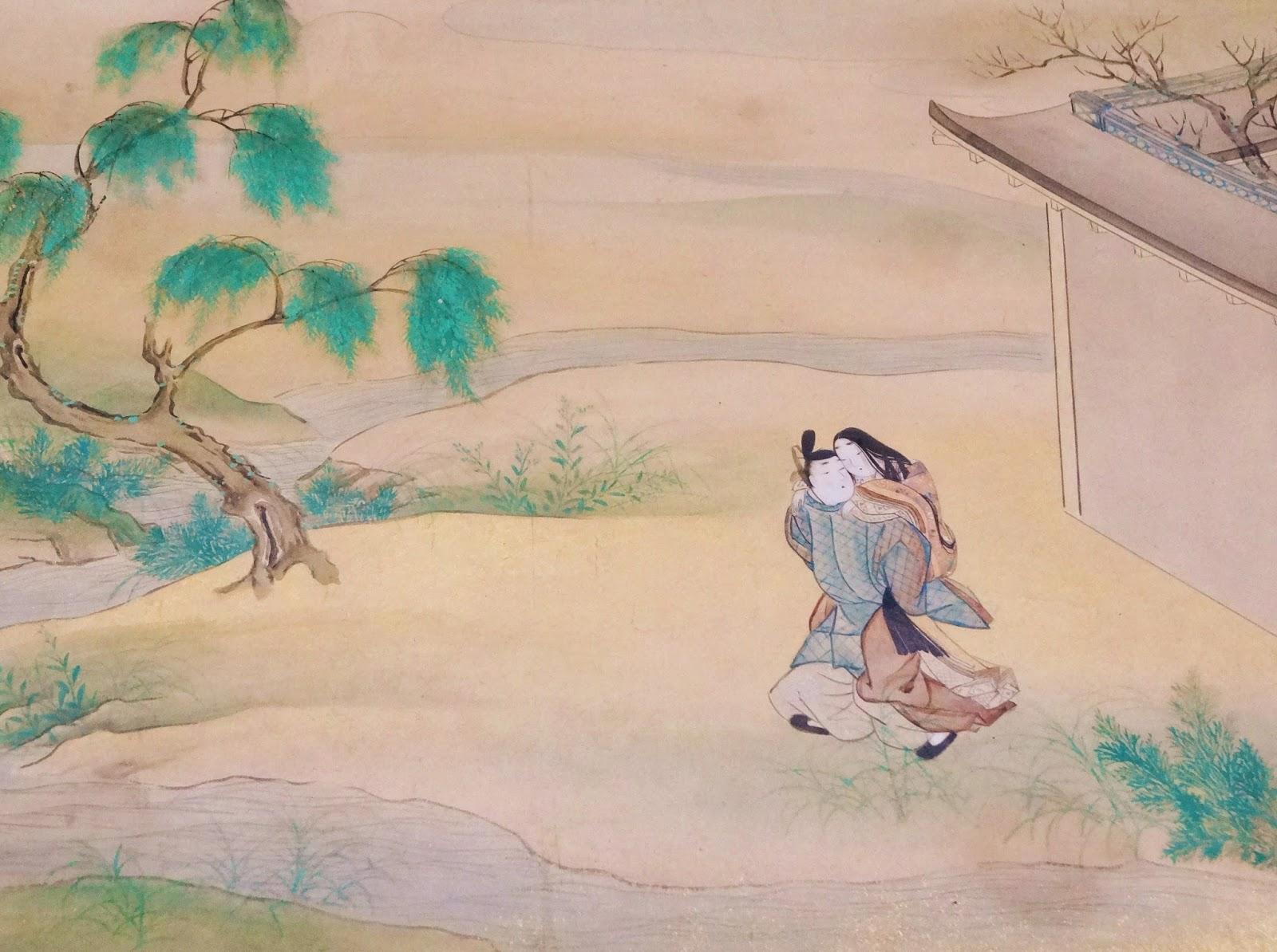 白鳥花を啣む: トーハク・根付・面裝束・絵畫など能楽関連美術