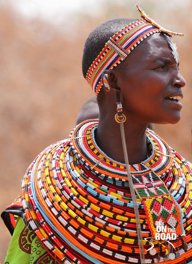 Samburu Tribal Woman, North Kenya, Africa